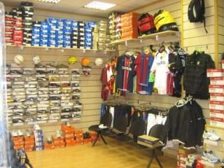 negozio calcio