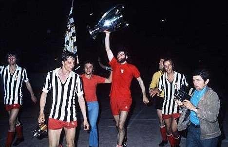 AJAX – JUVENTUS 1 – 0 FINALE CHAMPIONS 1973